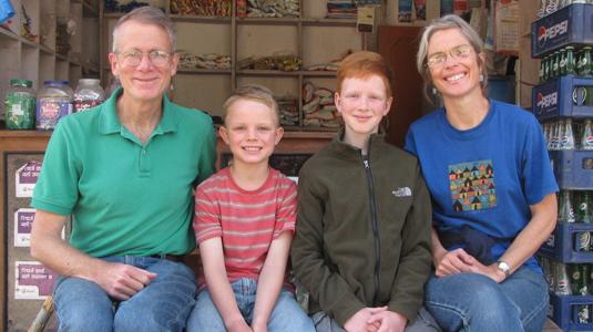 Missionaries Mark Deirdre Zimmerman
