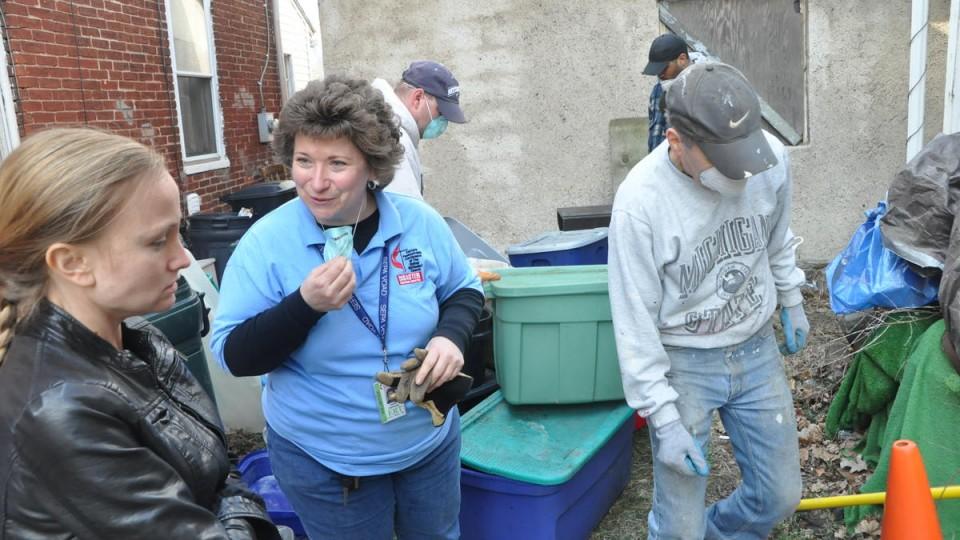 Disaster Response Coordinator and volunteers