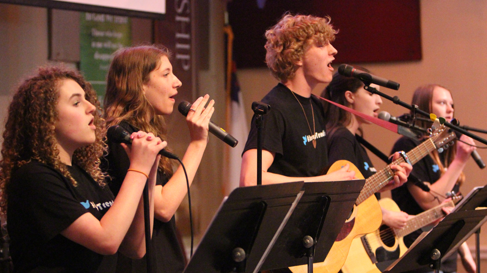 #JesusTrending, the Hopewell UMC Youth Praise Band, EPA Youth Rally 2015