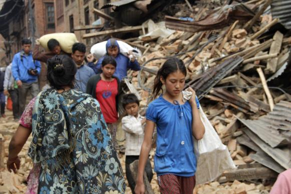 Nepal Earthquake Damage, Yeeshu Shukla, ACT Christian Aid