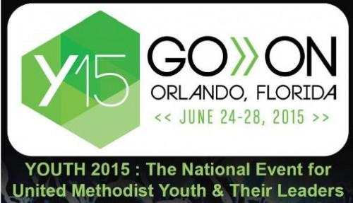 Youth 2015 Logo: Go On