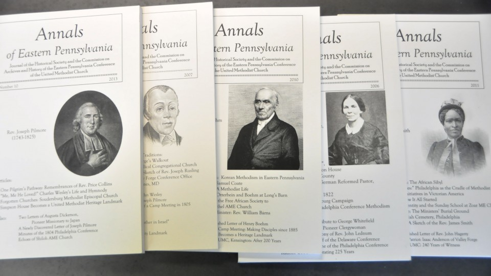 Annals of Eastern Pennsylvania, covers