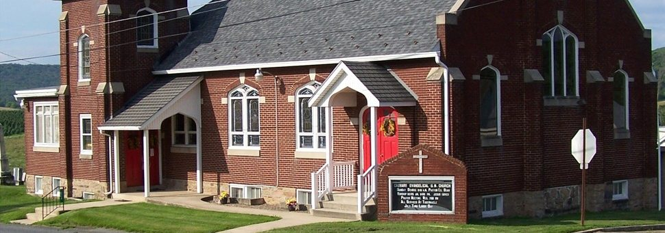 Exterior photo of Lewistown Valley: Calvary Evangelical Church