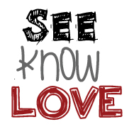 """See Know Love"" logo"