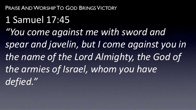David & Goliath Text