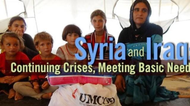 Syrian, Iraqi Refugees, UMCOR