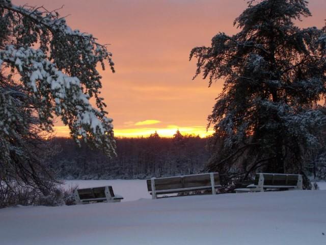 Pocono Plateau Morning Sunrise