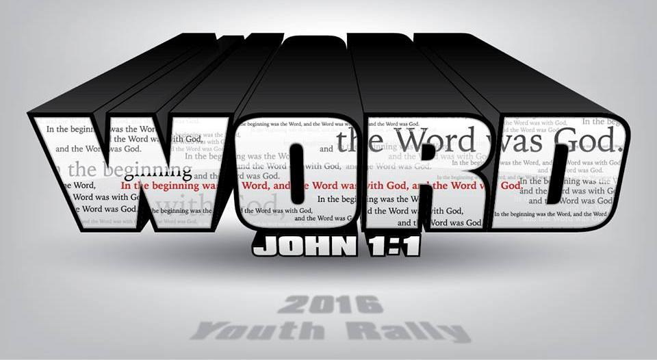 "Pen-Del 2016 Youth Rally ""Word"" logo"