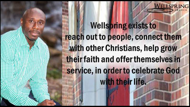Rev, Willis Johnson, Wellspring UMC Ferguson