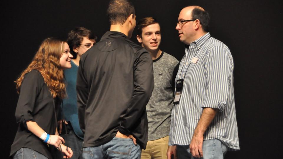 David Piltz with EPAC youth