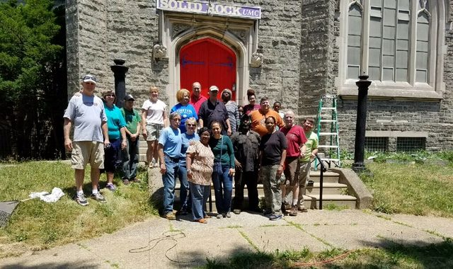 Solid Rock UMC, East District Mission Project