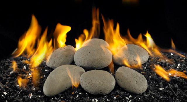 Stones-Fire