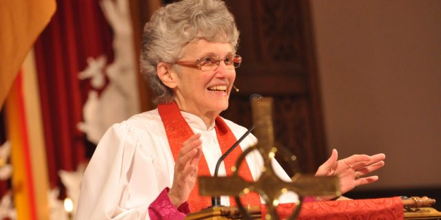 Bishop Peggy Johnson Preaching