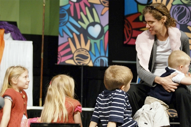 Elizabeth Christie, workshop leader, children's minister and special education teacher