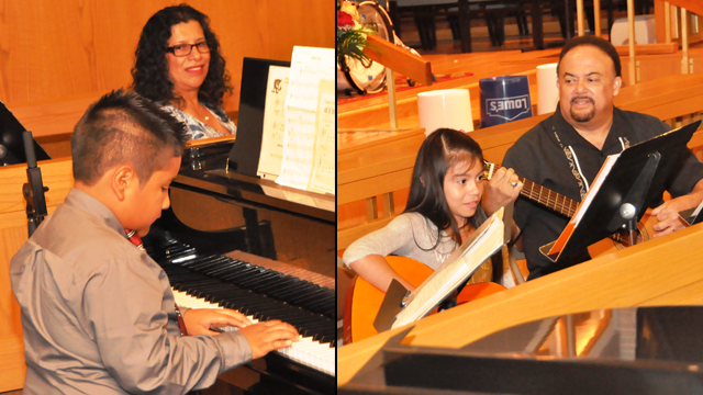 Latino ministry offers food, faith and the gift of music