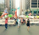 CONAM members join Philly's Standing Rock protest