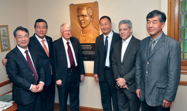 Korean church honors founder in gift to First UMC Lancaster