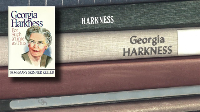 Georgia Harkness: A Women's History Month profile