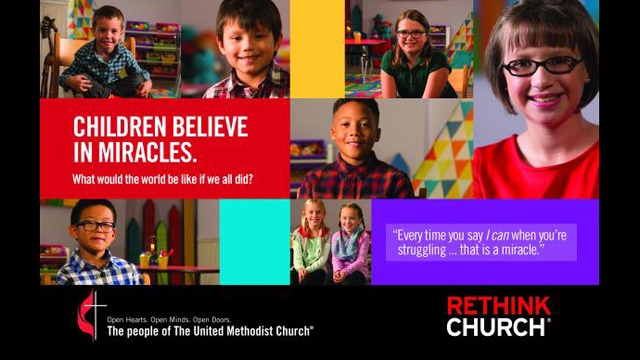 Children discuss miracles in new UMC ads
