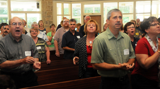 Central District Worship Conference - Audience Singing